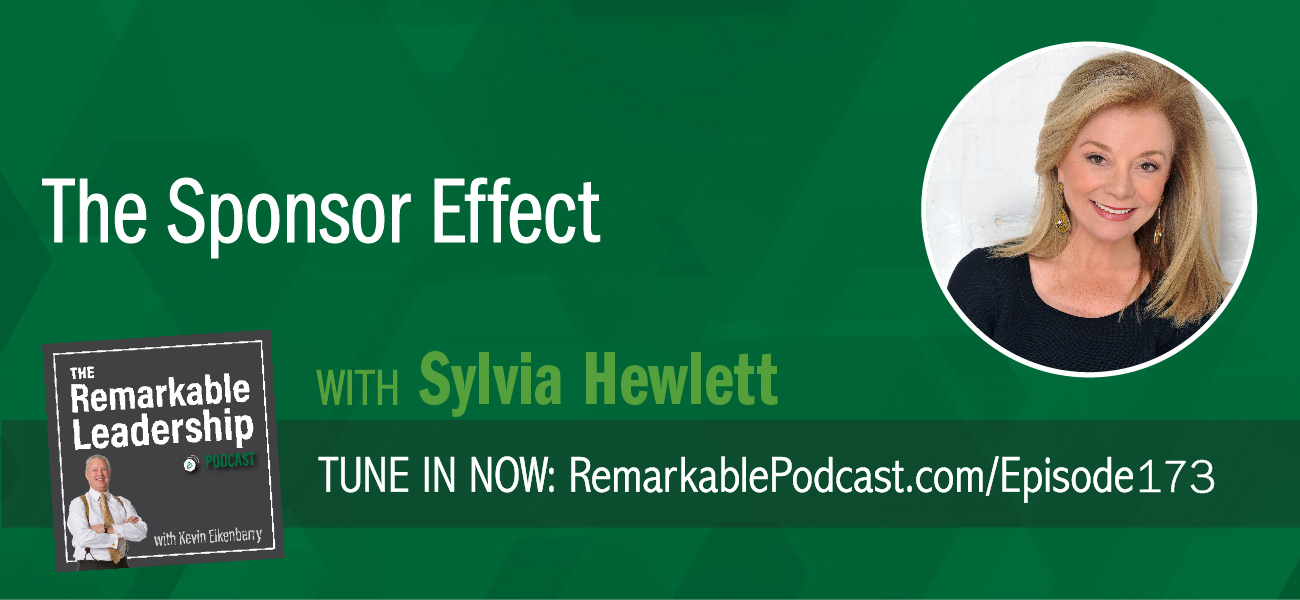 A sponsor is different than a mentor. A sponsor believes in your value, advocates for you, and allows you to take risks and has your back if you fail. Kevin sits down with Sylvia Hewlett, author of THE SPONSOR EFFECT: How to be a Better Leader by Investing in Others. They talk about the differences between a sponsor and a mentor. Sylvia also shares real-life examples of the sponsor/protégé relationship. She stresses that this isn't a one-way relationship. Data shows that leaders who become a sponsor are more likely to receive a promotion